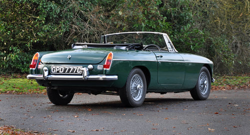 1965 MGB MK1 Roadster. Previously fully restored. SOLD (picture 2 of 6)