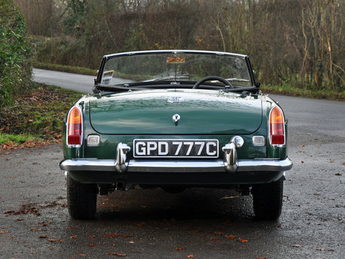 1965 MGB MK1 Roadster. Previously fully restored. SOLD (picture 3 of 6)