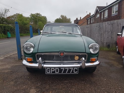 1965 MGB MK1 Roadster. Previously fully restored. SOLD (picture 4 of 6)