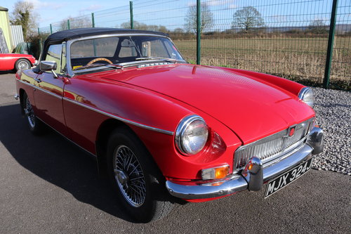 1972 MGB Roadster ,HERITAGE SHELL SOLD (picture 1 of 5)