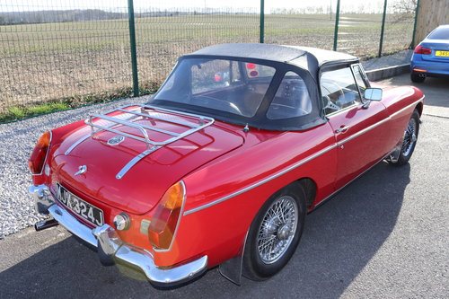 1972 MGB Roadster ,HERITAGE SHELL SOLD (picture 2 of 5)