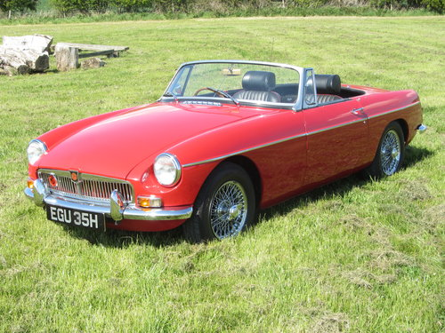 1969 MG B Roadster large history file For Sale - SOLD (picture 2 of 6)