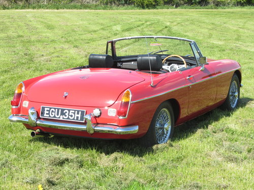 1969 MG B Roadster large history file For Sale - SOLD (picture 3 of 6)