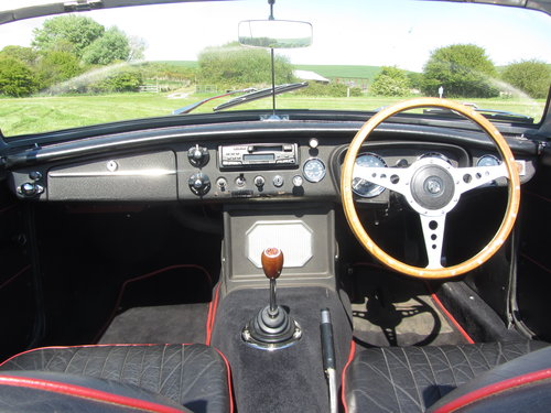 1969 MG B Roadster large history file For Sale - SOLD (picture 4 of 6)