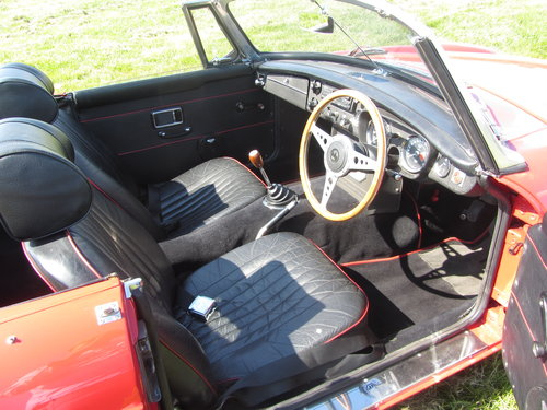 1969 MG B Roadster large history file For Sale - SOLD (picture 5 of 6)
