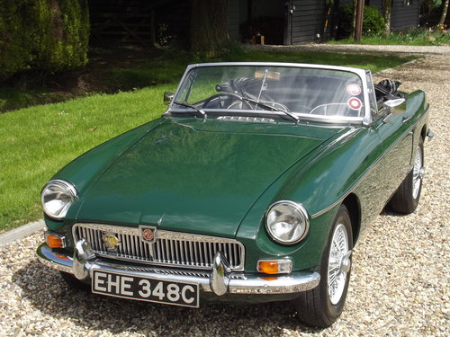 1965 MG B Roadster SOLD (picture 1 of 6)