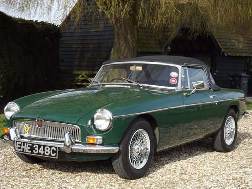 1965 MG B Roadster SOLD (picture 6 of 6)