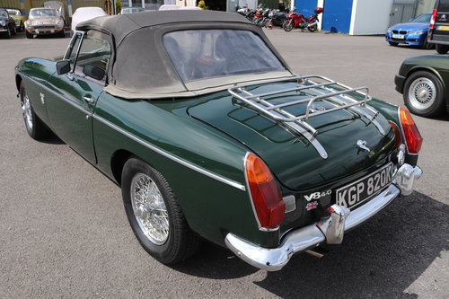 1971 MGB V8 Roadster ,HERITAGE SHELL, 3.9 litre SOLD (picture 3 of 6)