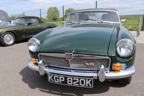 1971 MGB V8 Roadster ,HERITAGE SHELL, 3.9 litre SOLD (picture 5 of 6)