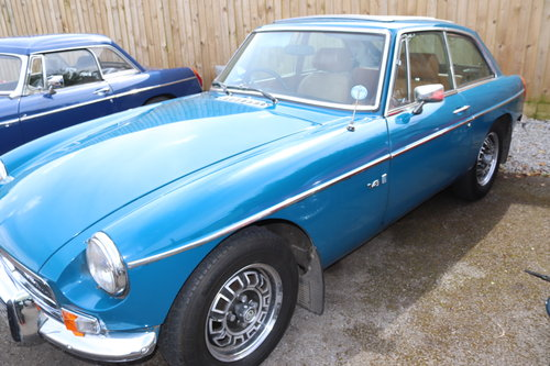 1972 MGB V8 Roadster, GTV8 and RV8 in stock For Sale (picture 2 of 5)