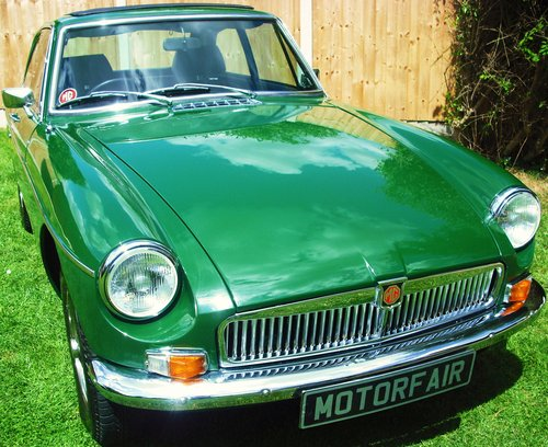 1980 MGB GT SERVICE HISTORY,LOW MILEAGE,3 FORMER KEEPERS,SUN ROOF For Sale (picture 1 of 6)