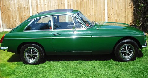 1980 MGB GT SERVICE HISTORY,LOW MILEAGE,3 FORMER KEEPERS,SUN ROOF For Sale (picture 2 of 6)