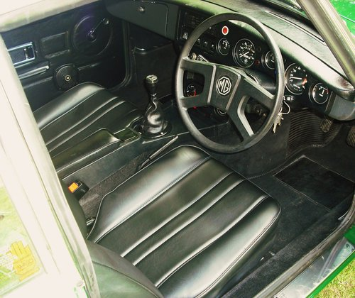 1980 MGB GT SERVICE HISTORY,LOW MILEAGE,3 FORMER KEEPERS,SUN ROOF For Sale (picture 4 of 6)