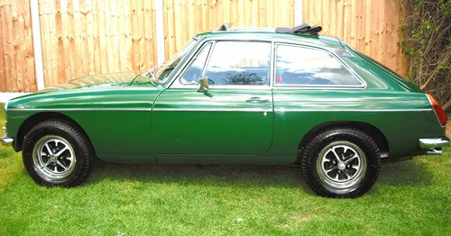 1980 MGB GT SERVICE HISTORY,LOW MILEAGE,3 FORMER KEEPERS,SUN ROOF For Sale (picture 6 of 6)