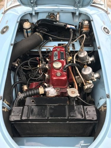 1960 MG A 1600 SPIDER MKI RESTORED SOLD (picture 5 of 6)