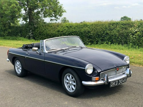 1972 MGB Roadster Manual / Overdrive SOLD (picture 3 of 6)