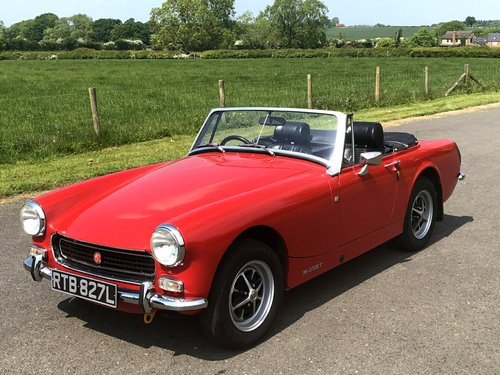 1972 MG Midget MK III. 1275cc SOLD (picture 1 of 6)
