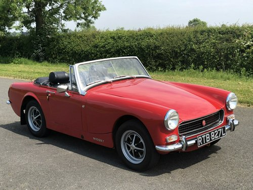 1972 MG Midget MK III. 1275cc SOLD (picture 3 of 6)