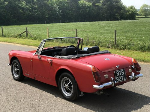 1972 MG Midget MK III. 1275cc SOLD (picture 4 of 6)
