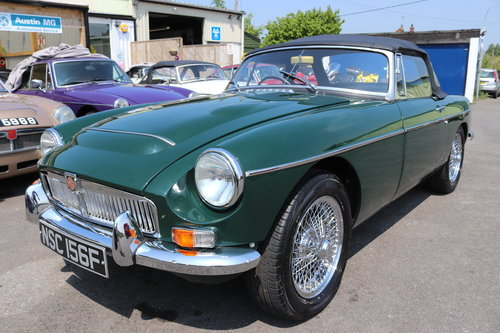 1969 MGC Roadster, BRG, Show standard rebuild just completed SOLD (picture 1 of 6)