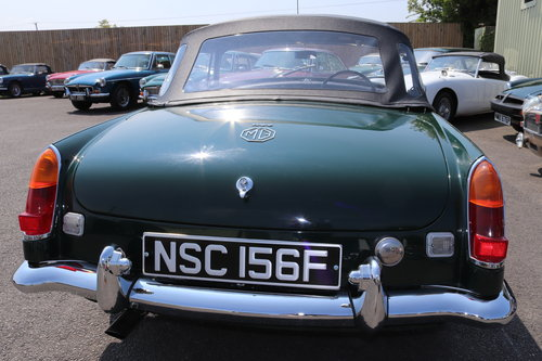 1969 MGC Roadster, BRG, Show standard rebuild just completed SOLD (picture 2 of 6)