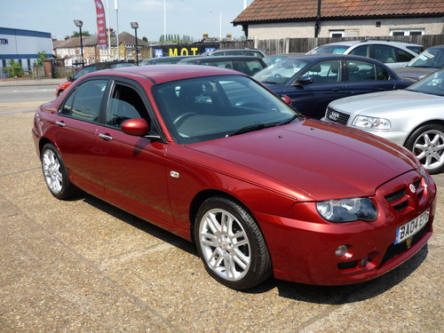 2004 MG ZT 1.8 120 + 4dr YES JUST 16,900 MILES FROM NEW SOLD (picture 1 of 6)