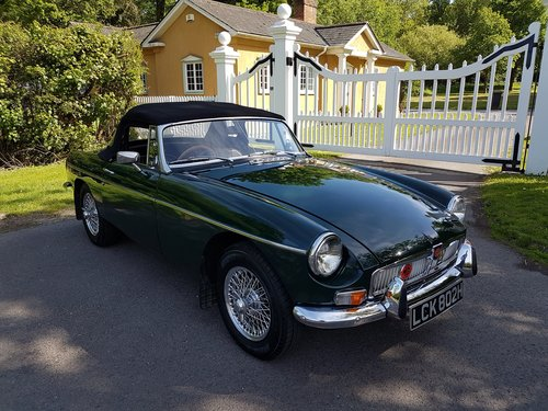 1970 MGB Roadster Dark British racing green SOLD (picture 2 of 6)