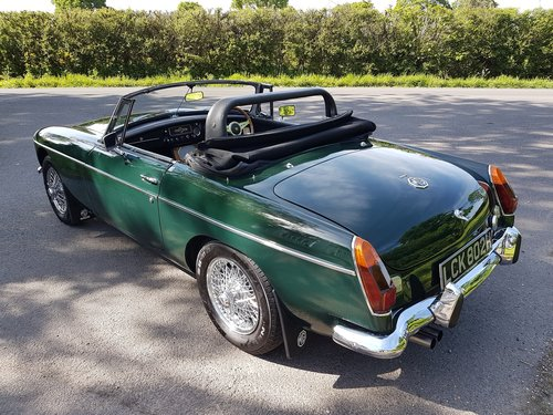 1970 MGB Roadster Dark British racing green SOLD (picture 4 of 6)