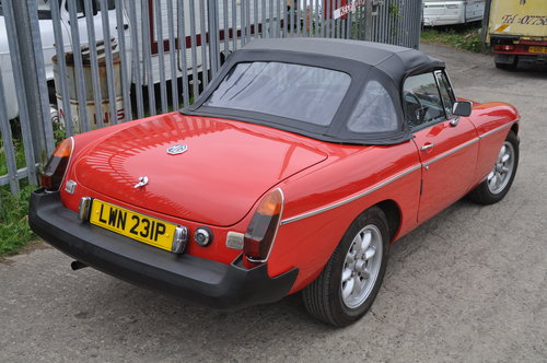 Early MG MGB rubber bumper roadster £4750 SOLD (picture 2 of 6)