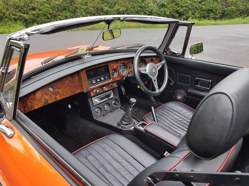 1980 MGB Roadster - Very low mileage - Stunning SOLD (picture 5 of 6)