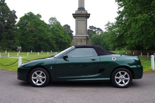 2002 MG TF Stepspeed low mileage rare model SOLD (picture 1 of 6)
