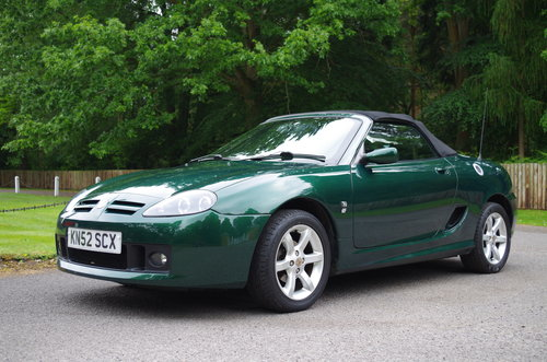 2002 MG TF Stepspeed low mileage rare model SOLD (picture 2 of 6)