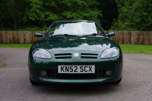 2002 MG TF Stepspeed low mileage rare model SOLD (picture 3 of 6)