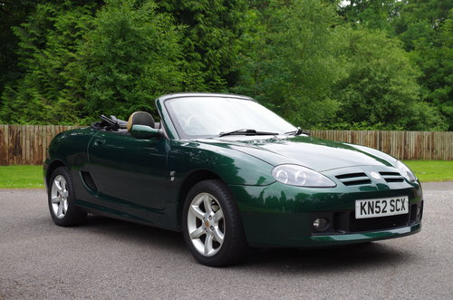 2002 MG TF Stepspeed low mileage rare model SOLD (picture 4 of 6)