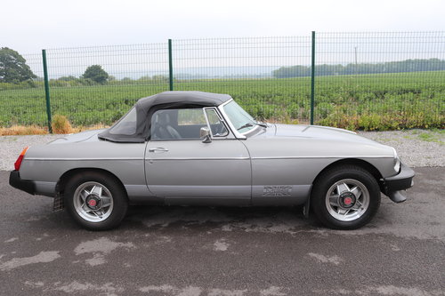 1979 MGB Roadster restored to LE spec. SOLD (picture 4 of 5)