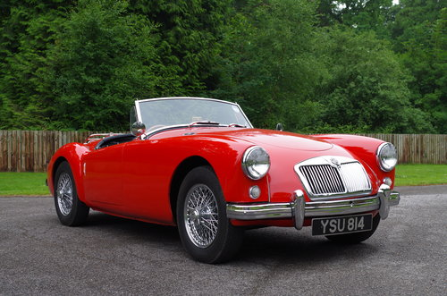 1957 MGA 1500 Roadster SOLD (picture 2 of 6)