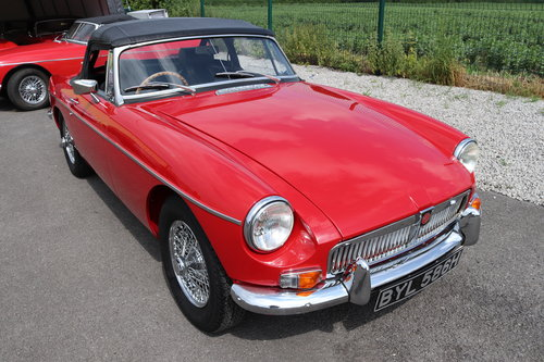 1970 MGB Roadster, Heritage Shell. Only 4800 miles SOLD (picture 1 of 6)