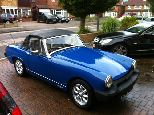 1978 MG Midget SOLD (picture 1 of 4)