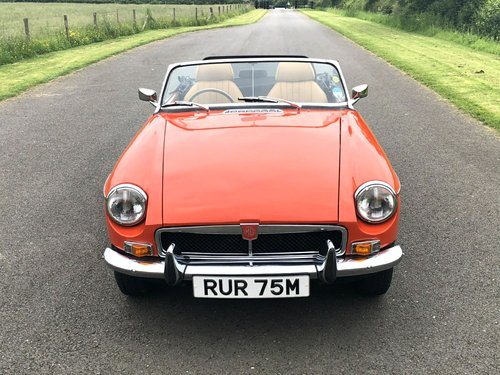 1973 MG MGB Roadster Manual with Overdrive SOLD (picture 2 of 6)