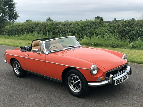 1973 MG MGB Roadster Manual with Overdrive SOLD (picture 3 of 6)