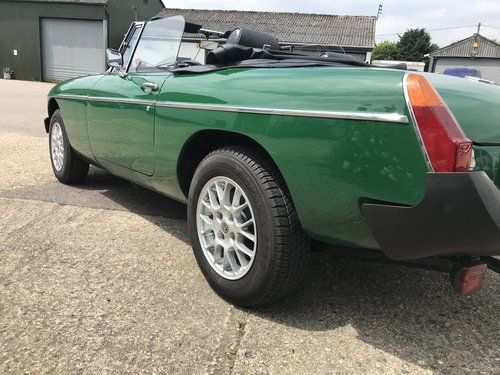 1981 MGB Roadster Rubber Bumper with HARD TOP For Sale (picture 3 of 6)