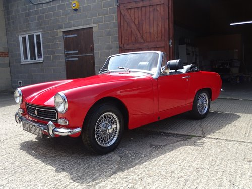 1969 MG Midget,pretty car,structurally sound,MOT 5/19,DIY project SOLD (picture 1 of 6)