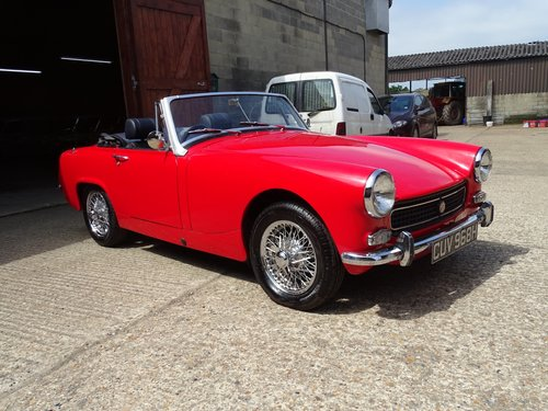 1969 MG Midget,pretty car,structurally sound,MOT 5/19,DIY project SOLD (picture 2 of 6)