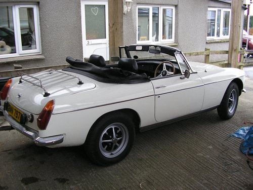 1979 MG B Convertible -chrome bumper overdrive mgb For Sale (picture 1 of 6)