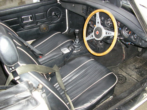 1979 MG B Convertible -chrome bumper overdrive mgb For Sale (picture 2 of 6)