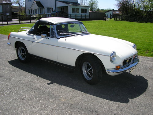 1979 MG B Convertible -chrome bumper overdrive mgb For Sale (picture 3 of 6)