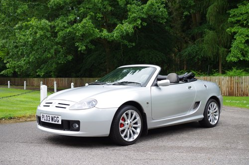 2003 MG TF Silver 'Sunstorm' Roadster SOLD (picture 1 of 6)