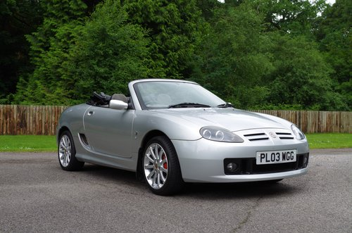 2003 MG TF Silver 'Sunstorm' Roadster SOLD (picture 3 of 6)
