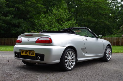 2003 MG TF Silver 'Sunstorm' Roadster SOLD (picture 4 of 6)