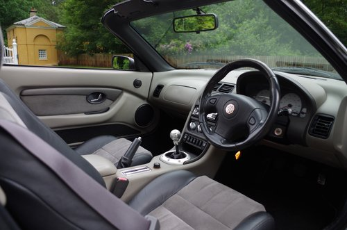 2003 MG TF Silver 'Sunstorm' Roadster SOLD (picture 5 of 6)